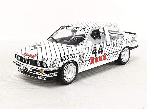 Minichamps - 155862644 - Voiture Miniature de Collection - BMW 325 I-DTM 1986-Echelle 1 18, Blanc