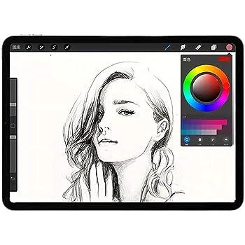 JPフィルター専門製造所 iPad 9.7インチ用のペーパーライク フィルム 紙のような描き心地 反射低減 非光沢 アンチグレア ペン先磨耗防止 iPad Air 2(2014)用の保護フィルム/iPad Air(2013)第6/5世代用の保護フィルム