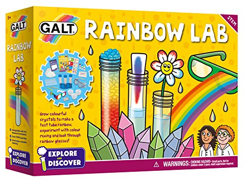 Galt Toys, Rainbow Lab, Science Kits for Kids, Ages 5+, Multicolor