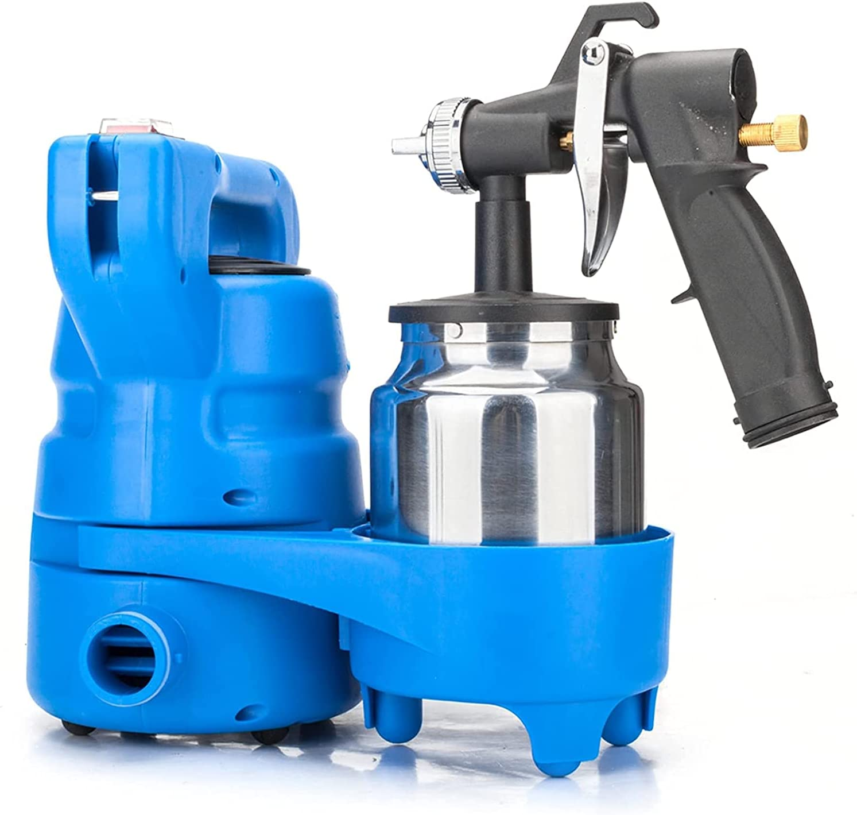 HDHUIXS OFFicial shop Simplistic Electric Paint Painting Blac Gun Latest item Blue Sprayer