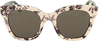 غوتشي نظارة شمسية نمط عين القطة للنساء , رمادي , GG0029S-011-50