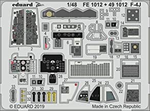 Eduard 1:48 F-4 J Interior PE Detail Set for Academy Kit #491012