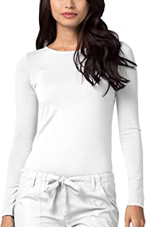 Adar Underscrubs for Women – Long Sleeve Underscrub Comfort Tee