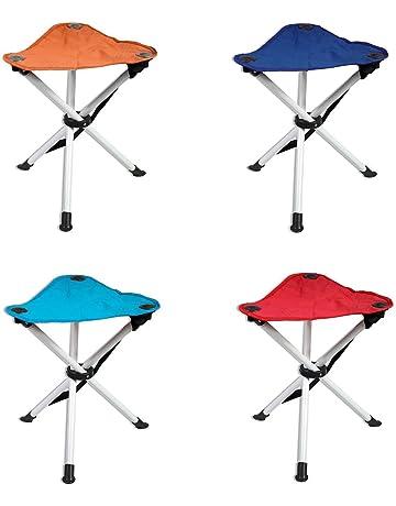Sgabello pieghevole da campeggio pesca sedia da esterni portatile escursionismo per campeggio in lega di alluminio 365 g, 30 x 26 x 30 cm sgabelli pieghevoli DUOUPA