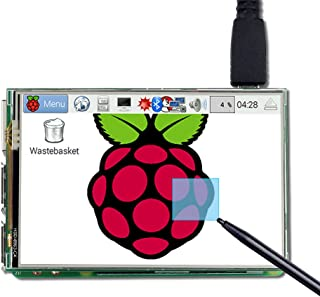 UCTRONICS 3.5 Inch TFT LCD Display SPI with Touch Screen, Touch Pen for Raspberry Pi 3 B+, 3 Mode B,Pi 2 Model B, Pi Zero, Pi B+
