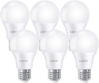 Lepro Bombilla LED E27 Luz Blanca Cálida 2700 K, Lámpara LED de 8.5 W y 720 lúmenes, Reemplaza Bombilla E27 LED Incandesce...