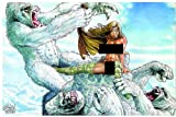 Cavewoman Snow #3 Nude Cover Variant Ltd to 750 Copies