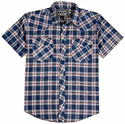 Men's Pearl Snap Shirt – Short Sleeve