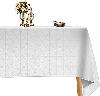مفرش الطاولة المستطيل من بيوتيتريز لطاولة الطعام استخدم غطاء طاولة مقاوم للماء مقاوم للانسكاب قماش مزخرف للاستخدام في الأم...