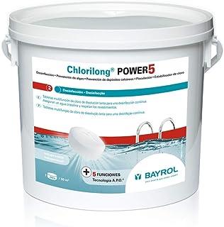 Bayrol - Cloro Multifuncin Sin Cobre Chlorilong 5.5 Kg