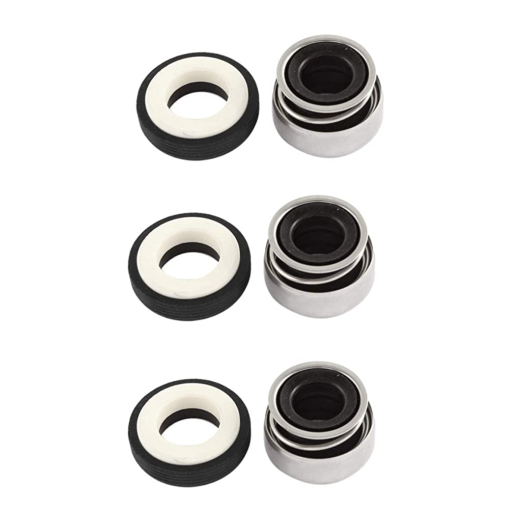 XMHF Single Coil Spring Mechanical Seal,Suitable to Water Pump,Automotive Cooling Pump and Similar Mechanical Rotary Axis 12mm/0.5