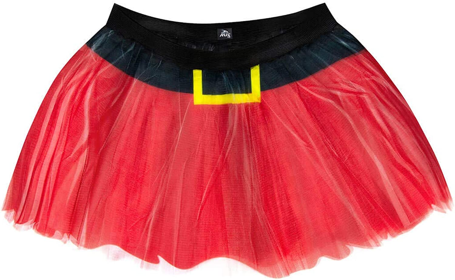 Gone For a Run Runners Printed Tutu Lightweight   One Size Fits Most   colorful Running Skirts   Santa Skirt