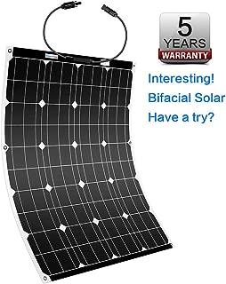 Winnewsun Flexible Solar Panel Bifacial Flexible Solar Panel 100W New Generation High Efficiency Solar Panel New Technology Solar Panel