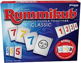 Rummikub with Bonus Jokers Game, Classic, Pressman