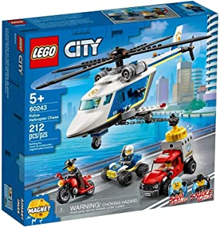 LEGO City Police Police Helicopter Chase for age 5+ years old 60243
