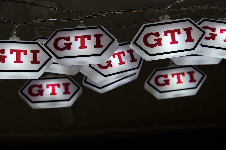 Brisa Vw Collection Stylishe Ambiente Volkswagen Golf Gti Logo Batterie Lichter Kette Für Parties Kinderzimmer Werkstätten Events Für Innen 3m 20 X Led Beleuchtung