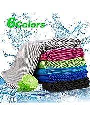 Cooling handdoek voor sport en fitness   30 x 100 cm koeldoek handdoek/microvezel handdoek koelend   ijsdoek, zacht, ademend koelende handdoeken voor yoga, hardlopen, outdoor sport