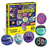 Creativity for Kids Glow In The Dark Rock Painting Kit - Paint 10...