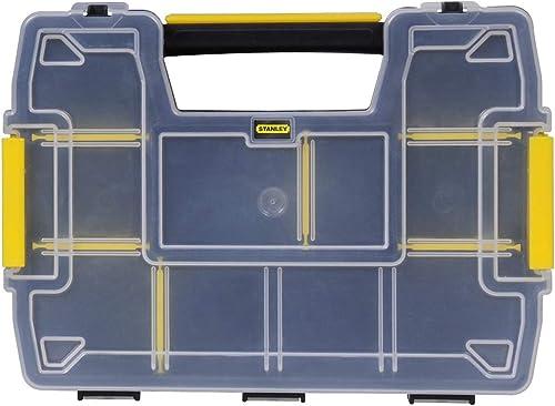 Stanley Stst1-71197 Sort master Organiseur Empilable - Dimensions: 29 x 13 x 21 cm - Fermeture Sécurisé - Couvercle e...