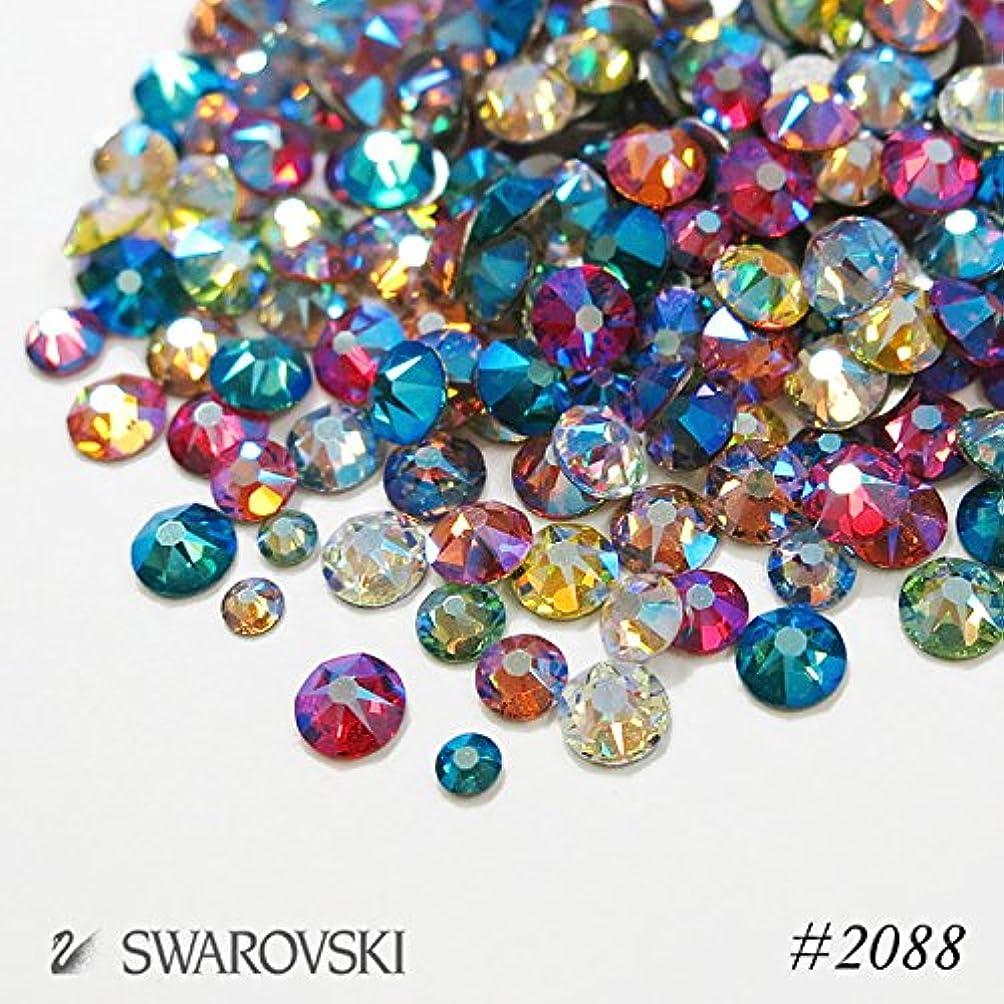 伝統可決シェードスワロフスキー(Swarovski) クリスタライズ ラインストーン 【シマーエフェクトカラーMIX】80粒入