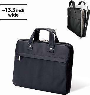 エレコム ビジネスバッグ キャリングバッグ A4対応 スリム カジュアル 13.3インチ ブラック BM-CB01BK