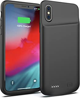 the latest c5c99 a9fdb Amazon.com: lux iphone x battery case