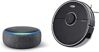 Echo Dot 第3世代 - スマートスピーカー with Alexa、チャコール + ロボロック(Roborock) S5 Max ロボット掃除機