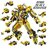 PANLOS Robot STEM Toy Engineering Building Blocks Building Bricks Toy kit - for Boys 6 Years Old or...