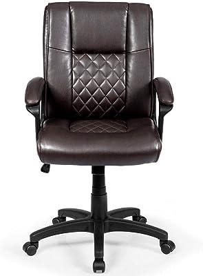Amazon Com Serta Works Executive Office Chair Bonded