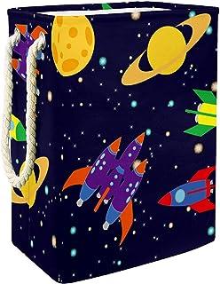 Vockgeng planètes, Vaisseau Spatial, fusées Accueil Organisation Panier de Rangement imperméable Pliable de Jouets de Joue...