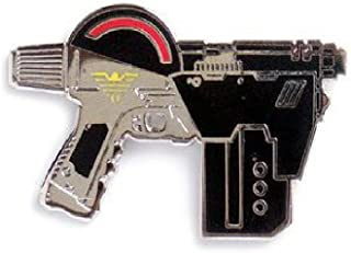 Yesterdays Co 2000AD Judge Dredd Lawgiver Hard Enamel Black Nickel Plated Lapel Pin