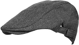 TOSKATOK® Mens Tweed Flat Caps