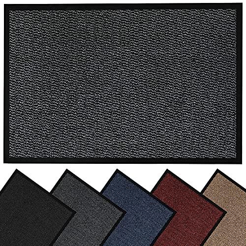 HouseGads Door Mats Indoor And Outdoor Rugs - Anti-Slip Door Mat Outdoor...