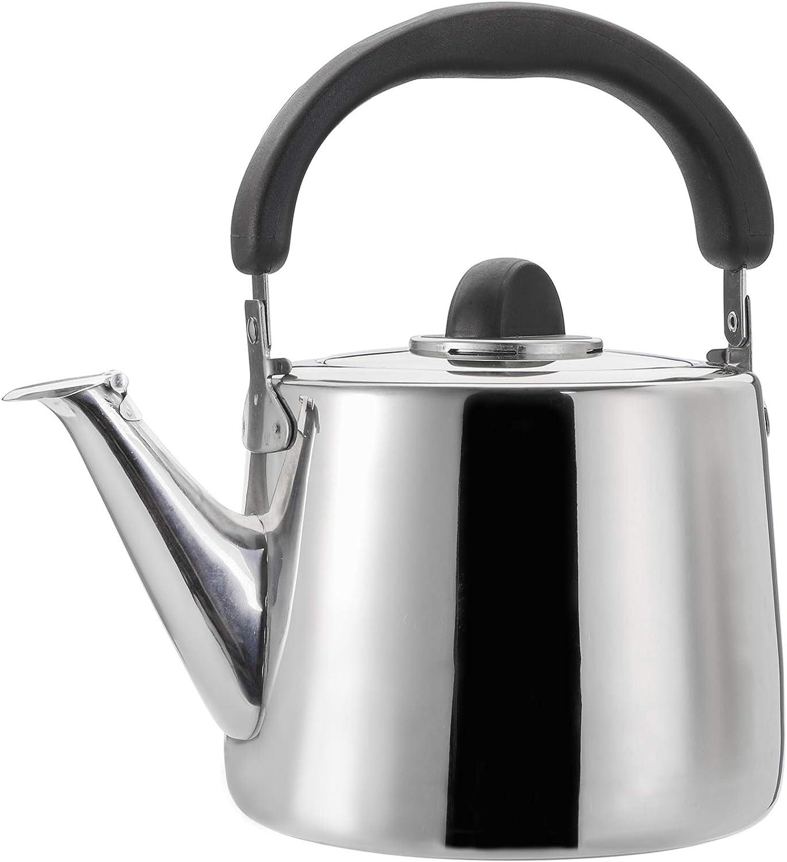 TOPZEA 304 Stainless Steel Tea Kettle 3 Classic Max 88% OFF Teapot Quart shop wi