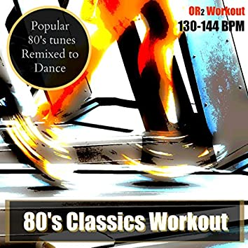 80's Classics Oldies Workout (Remixed 80's Music for Cardio & Fitness)