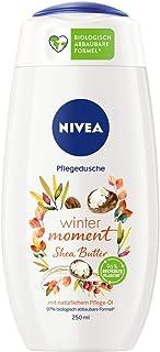 NIVEA Winter Moment Shea pielęgnujący żel pod prysznic (250 ml), zimowy żel pod prysznic z zapachem masła shea, kremowy że...