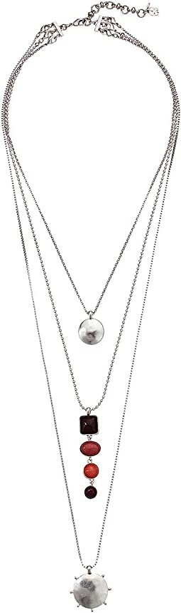 Berry Stone Layer Necklace