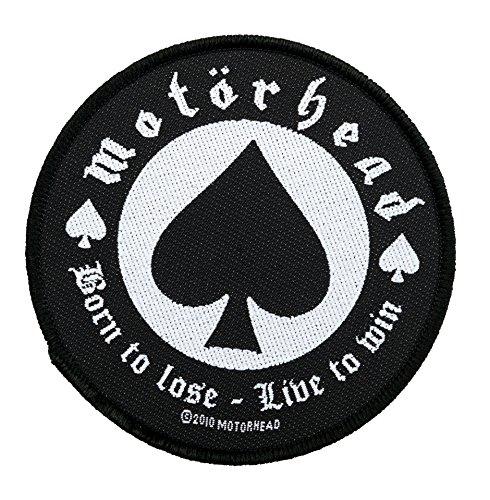 Motörhead Aufnäher - Born To Lose Patch - Gewebt & Lizenziert !!