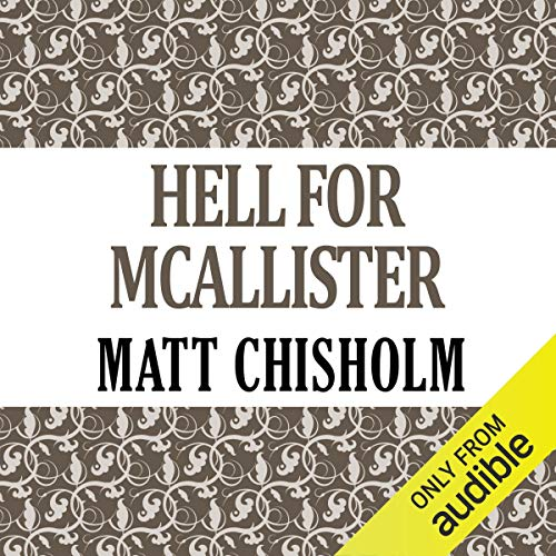 Hell for McAllister audiobook cover art