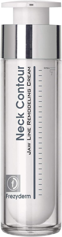 Frezyderm Neck Contour Cream, Crema efecto lifting reafirmante que reduce el doble mentón, 50ml
