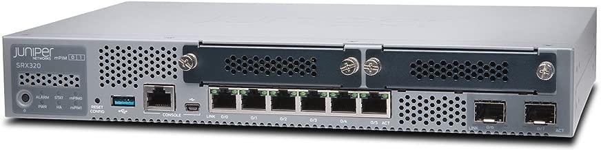 Juniper SRX320 8-Port Security Services Gateway Appliance