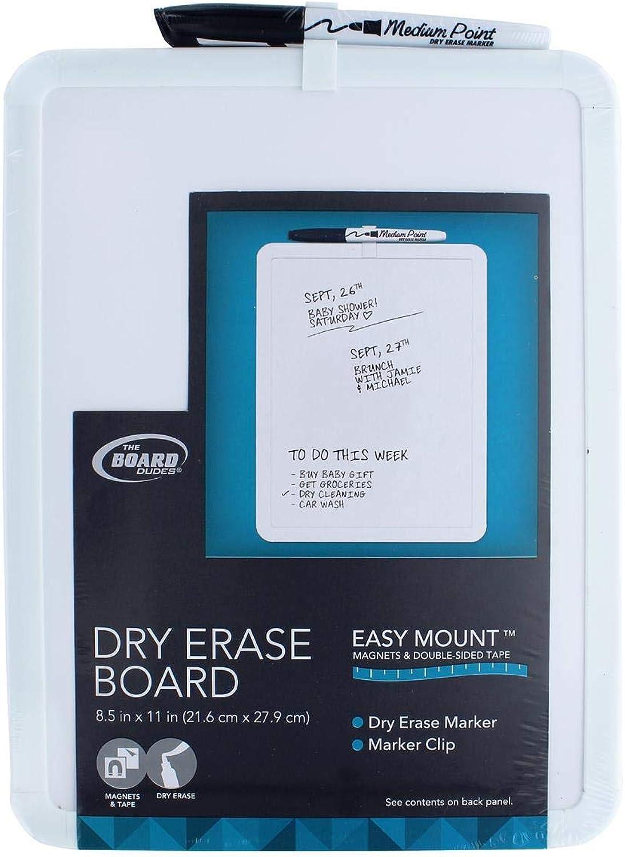 Brd Brd Brd Dudes Dry Erase Board Vinyl Frame 8.5x11.5 by The Board Dudes B000WLURAA | Beliebte Empfehlung  1c4009