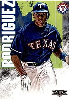 alex rodriguez texas rangers baseball card