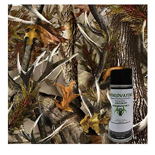 Deer Horn Camo Kit - with 6oz. Activator Hydro Film Dip Kit Hydrographics Film - Hydro Dip Film - Hydrographic Film - Water Transfer Printing - Hydro Dipping