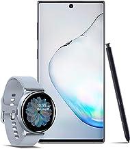$1018 » Samsung Galaxy Note 10 Factory Unlocked 256GB, Aura Black with Galaxy Watch Active2 W/Enhanced Sleep Tracking Analysis,Silver