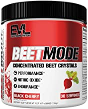Evlution Nutrition Beet Mode, Concentrated Beet Root Crystals, Nitric Oxide Booster, Natural Circulation, Immune Support, ...