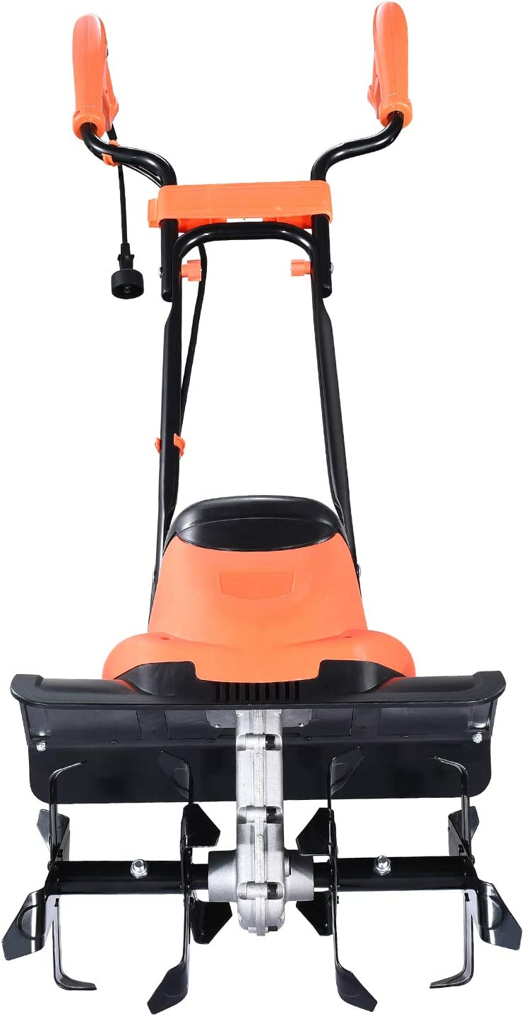 Hattomen All items free shipping Electric Garden Max 86% OFF Tiller Amp 14 8.5 Cultivator