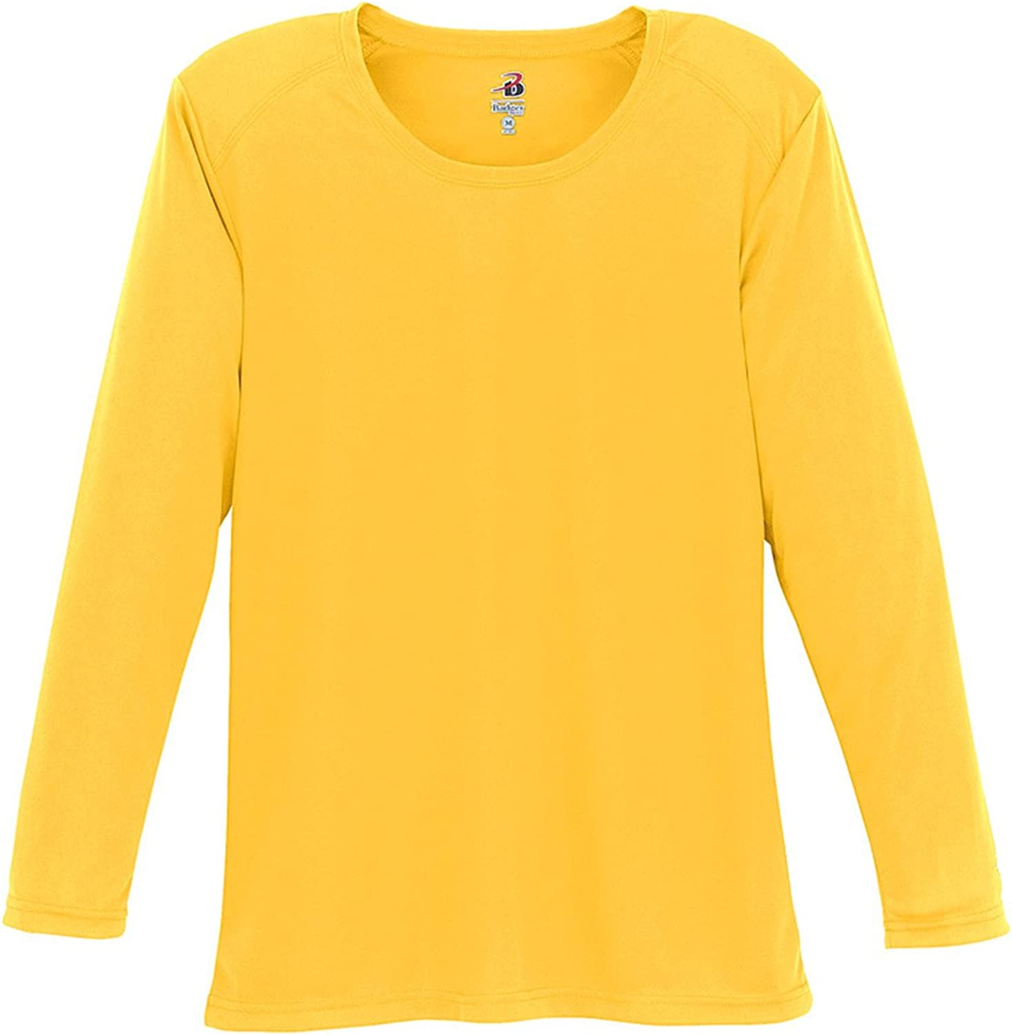 Badger Sportswear Ladies' BDry Long Sleeve TShirt, M, gold