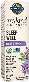 Garden of Life mykind Organics Sleep Well R&R Spray 2 fl oz (58 mL) Liquid - Relax & Rest, Green Tea Extract L-Theanine, C...