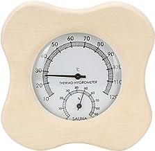 HERCHR Termómetro Exterior 2In1, termómetro de Pared para baño de Vapor